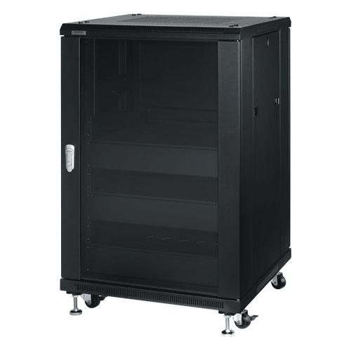 18 SPACE ENCLOSED RACK ASSY