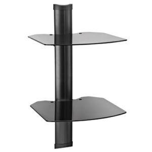DOUBLE SHELF SYSTEM-BLACK
