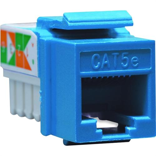CAT5E INSERT 8P8C BLUE