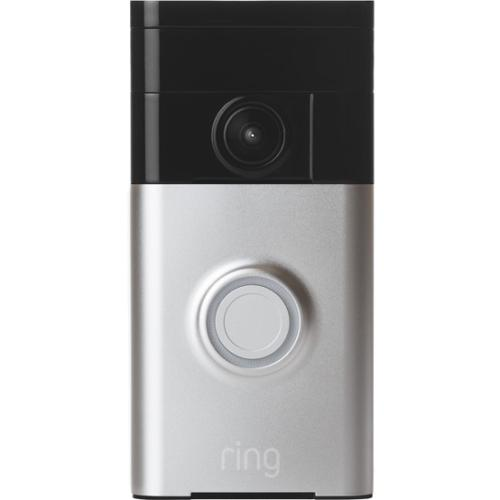 RING VIDEO DOORBELL-SATIN NCKL