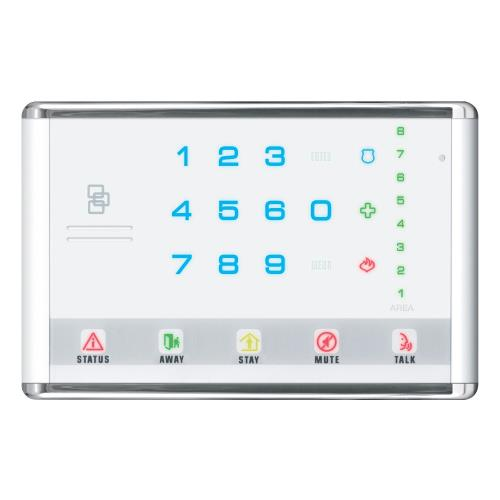 NETWORX ADV TOUCH LED KEYPD WH