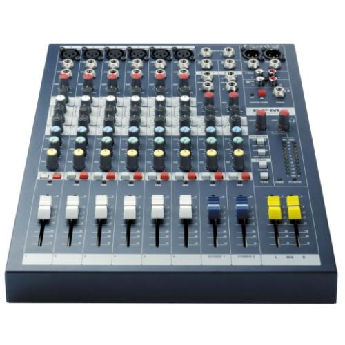 6 CHANNEL MULTI PURPOSE MIXER
