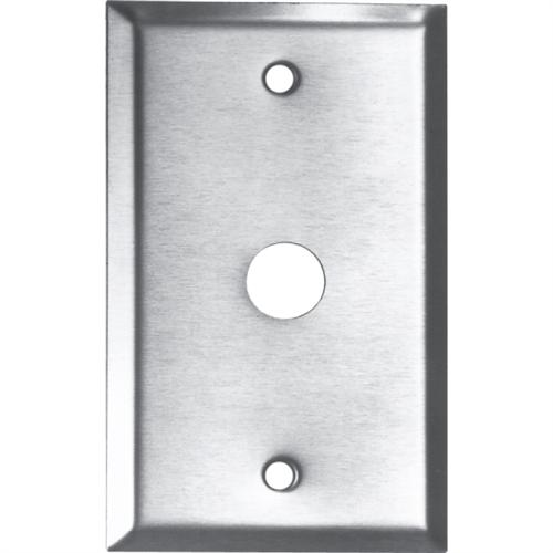 PUSH BUTTON BACK PLATE