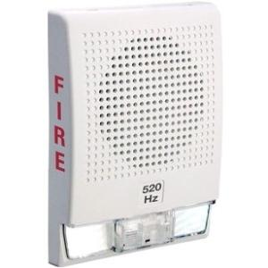 520HZ LOW FREQ HORN WHT W/FIRE