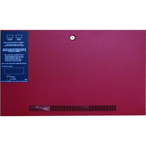 BATTERY BACK BOX RED