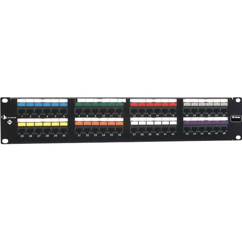48PRT T568A/B 1RMS PATCH PANEL