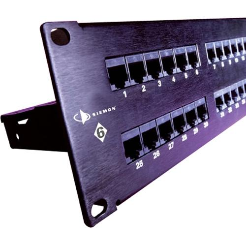 24 PORT C6 T568A/B PATCH PANEL