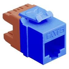 CAT6 INSERT 8P8C HD BLUE