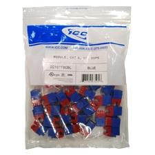 MODULE, CAT 6, HD, 25PK, BLUE