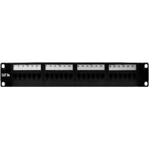 24-PORT CAT 5E RACK MOUNT PATC