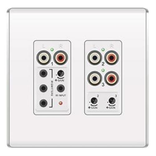 LYRIQ 3-SOURCE INPUT FLUSH WHT