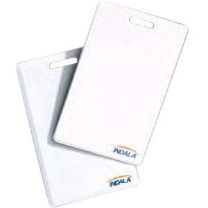 FLEX CARD WHITE W/LOGO
