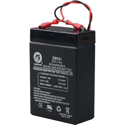 6V,3.1AH SLA BATTERY
