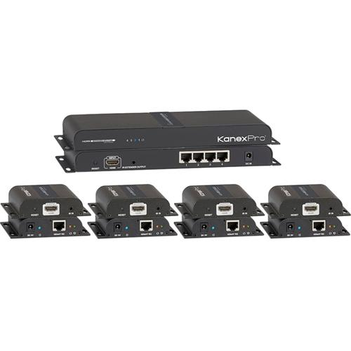 HDMI 1X4 SPLITTER W/ CAT5E/6