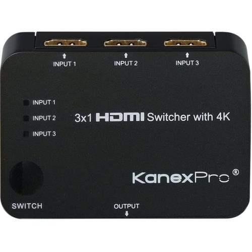 3X1 HDMI SWITCHER WITH 4K