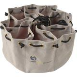 8 COMPARTMENT SCREW CONN BAG