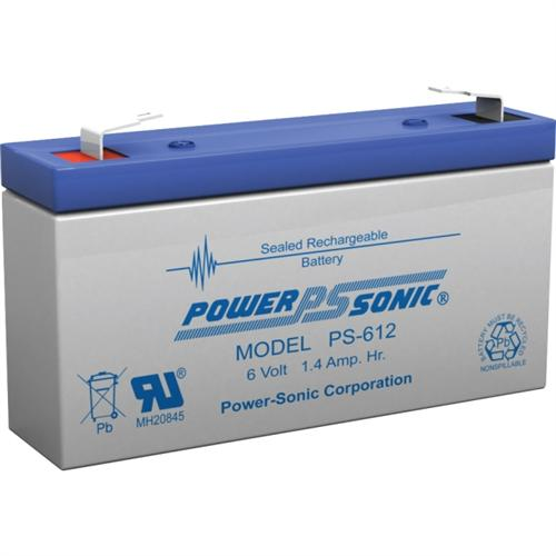 6V 1.4AH SLA BATTERY F1