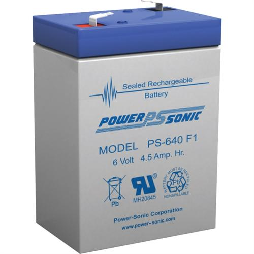 6V 4.5AH SLA BATTERY