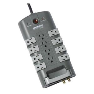12OUTLET SURGE STRIP W/8ROTATE