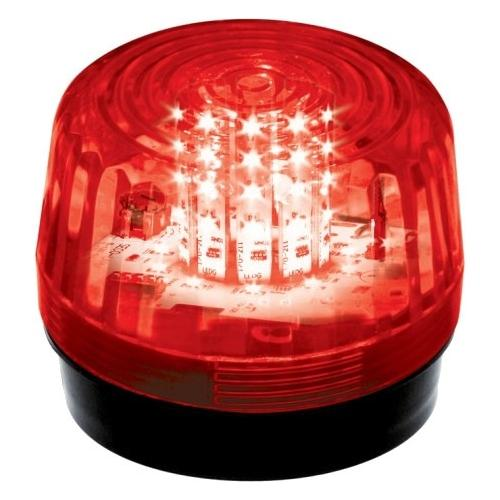 12 LED STROBE, FLASH, RED