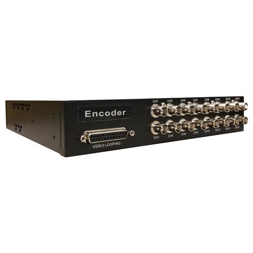 16CH ANALOG TO IP ENCODER