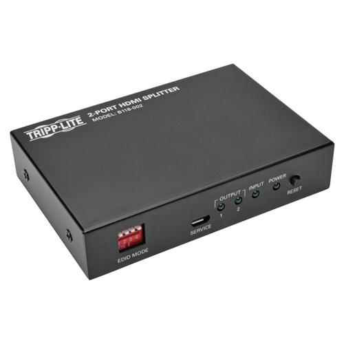 2-PORT HDMI SPLITTER FOR VIDEO