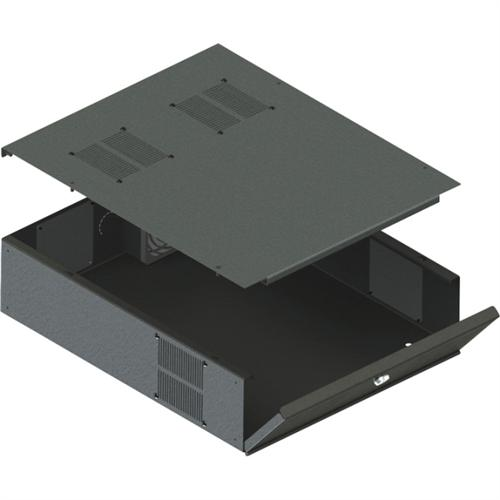 LOW PROFILE DVR/STORGE LOCKBOX