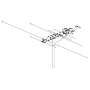 CHANNEL 2-69 ANTENNA V/U