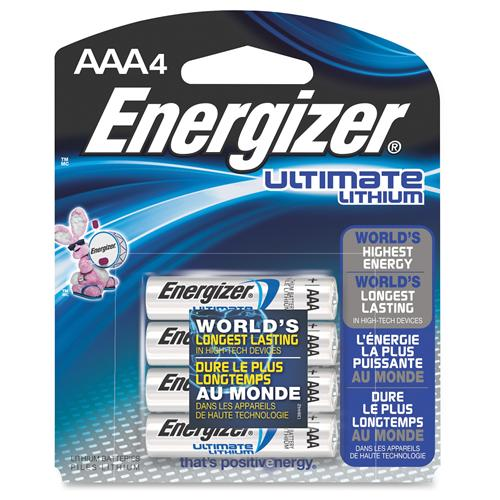 AAA LITHIUM ULTIMATE 4-PACK